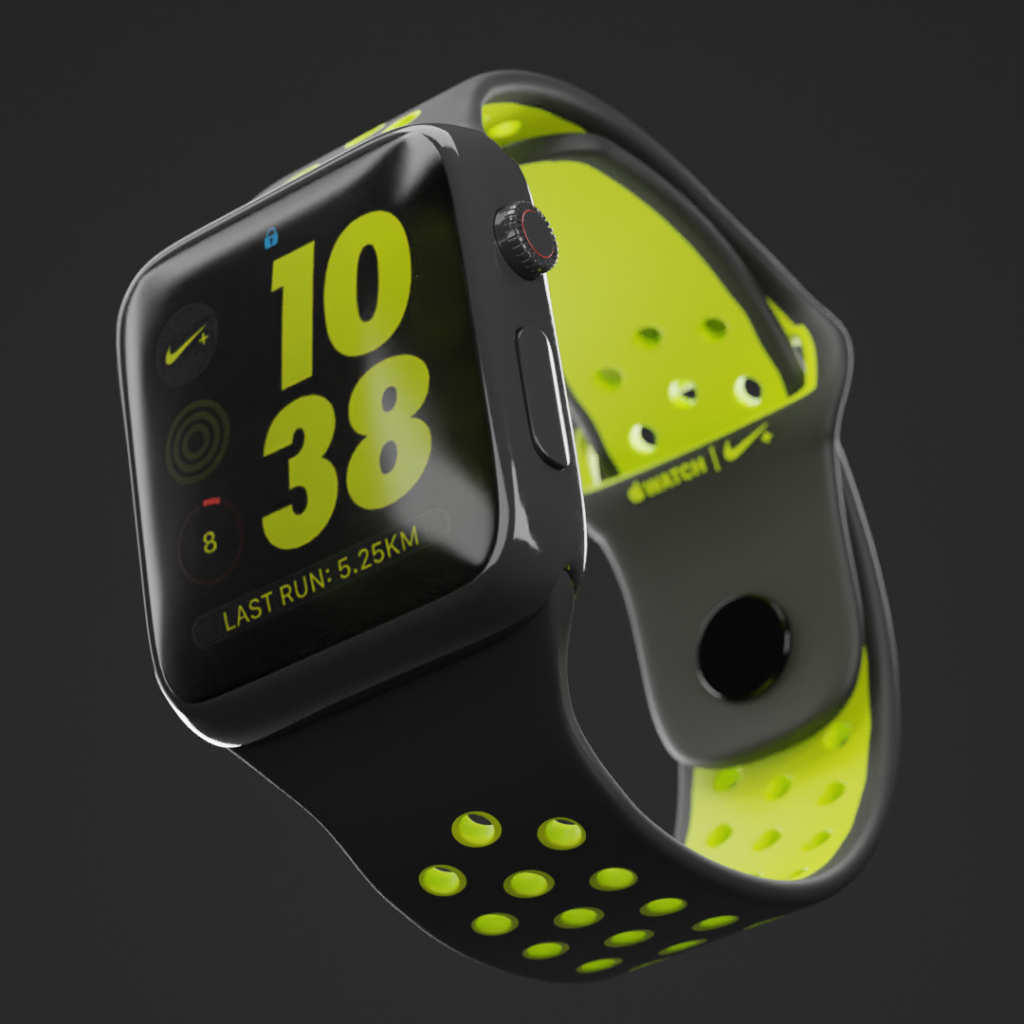 Render del Nike Smart Watch