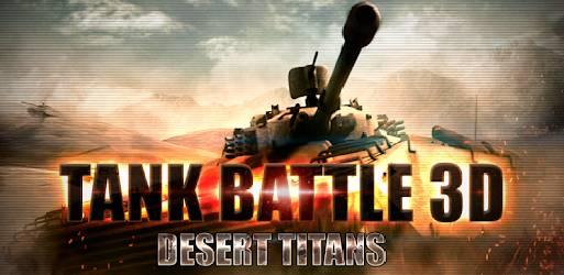 Cover Tank Battle 3D Desert Titans