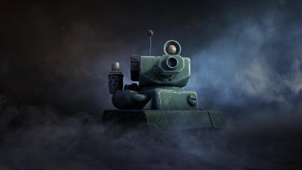 Toon Tank Main Render